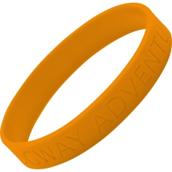 Silicone Debossed Wristbands