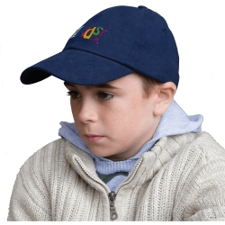 Result Kids Low Profile Heavy Brushed Cotton Cap
