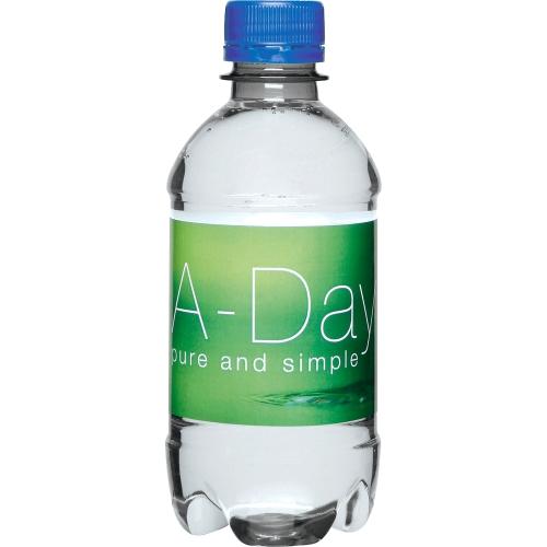 Clear Bottle - Blue Top
