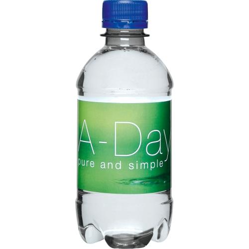 Clear Bottle - Dark Blue Top
