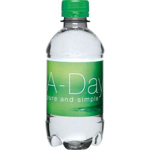 Clear Bottle - Green Top