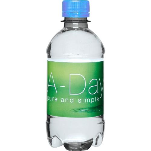 Clear Bottle - Light Blue Top