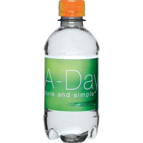 Clear Bottle - Orange Top