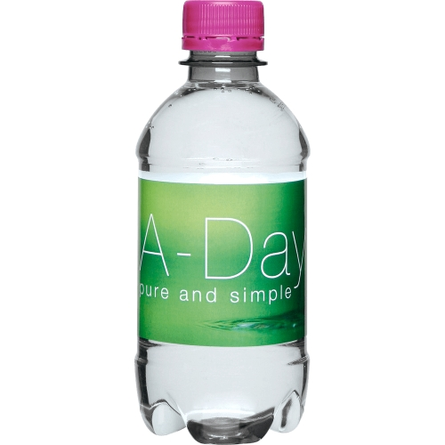 Clear Bottle - Pink Top