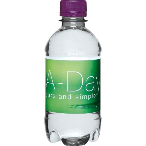 Clear Bottle - Purple Top