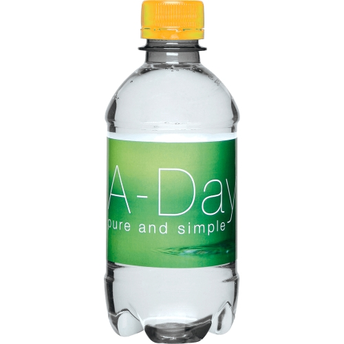 Clear bottle - Yellow Top