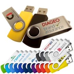 Twisty Promo USB Memory Stick
