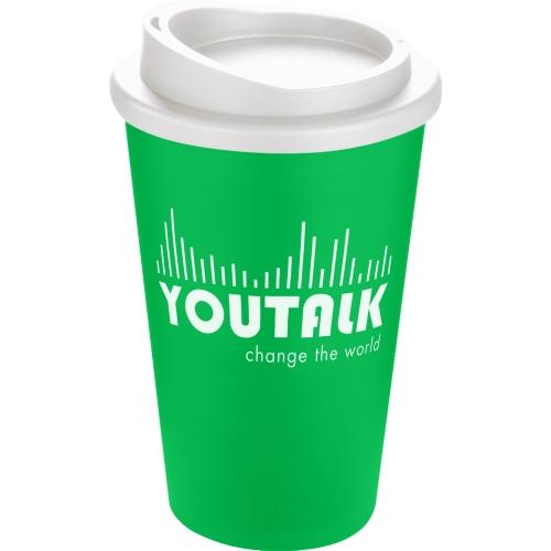 Green Mug (7481) - White Lid