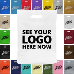 Biodegradable Promotional Carrier Bags - Large