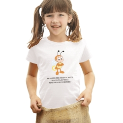 Full Colour Kids White T Shirt