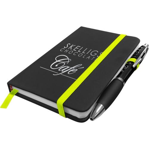 Neon Yellow - Black Pen