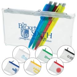 Clear PVC Pencil Case