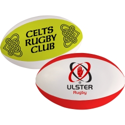 Branded Rugby Ball