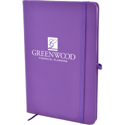 A5 Soft Touch Lined Notebook
