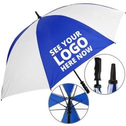 Value Fibrestorm Golf Umbrella - 1 Panel Print