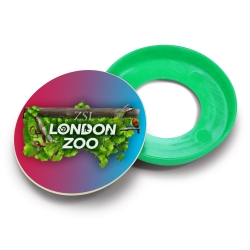 Recycled Plastic Kids Safety Pop Button Badges - 45mm