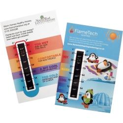 Temperature Gauge Card