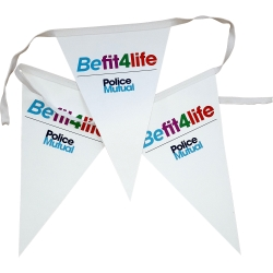 Large Printed Bunting (A4)