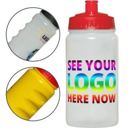 Thirst Grip Sports Bottle Full Colour 500ml