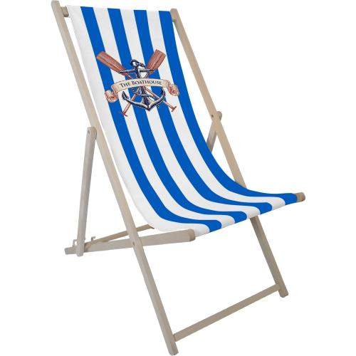 Striped Blue 2935 & White