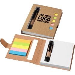Window Sticky Notebook Set With Pen