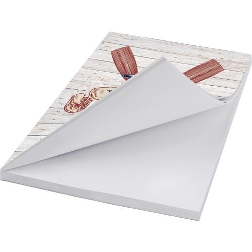 White - Glued left long edge