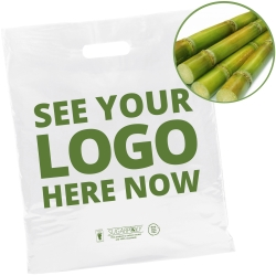 100% Recyclable Sugar Cane Carrier Bags