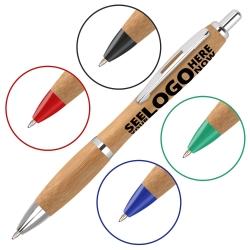 Curvy Bamboo Pens