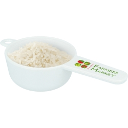 Recycled Plastic Branded Rice Scoop