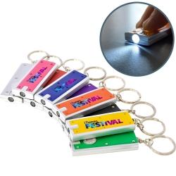 Slimline Keyring Torch Full Colour