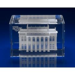 3D Engraved Crystal Award Rectangle