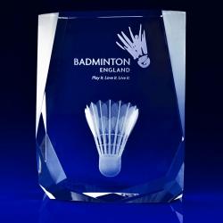 3D Engraved Chamonix Glass Trophy