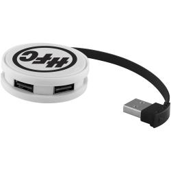 Round 4-Port USB Hub