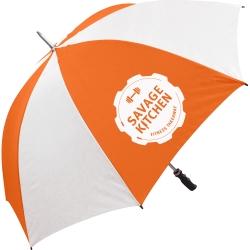 Value Sports Promotional Umbrella - 1 Panel Print