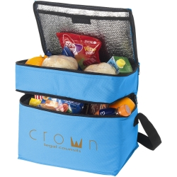 Oslo 2-Zippered Compartments Cooler Bag
