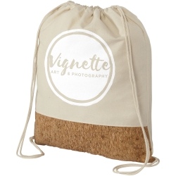 Woods 175 G/M² Cotton And Cork Drawstring Backpack