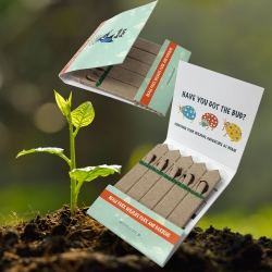 Promotional 5 Stick Seedstick - Flowers