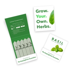 Promotional 5 Stick Seedstick - Herbs