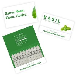 Promotional 10 Stick Seedstick - Herbs