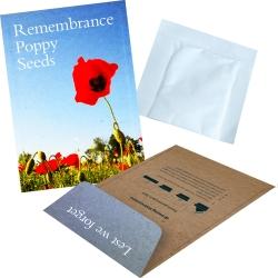 Promotional Seed Kraft Envelopes - Flowers