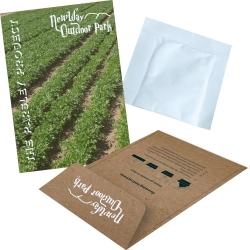 Printed Seed Kraft Envelopes - Herbs