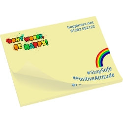 Value Sticky Notes 100 x 75mm Full Colour