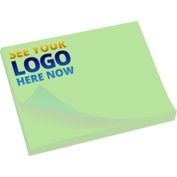 Printed Sticky Pads A7 100 x 75mm Full Colour Print