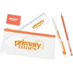 Branded Pencil Case Set