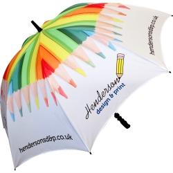 Fibrestorm Golf Umbrella Full Colour 360