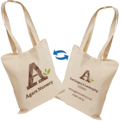 Cotton Printed Tote Bags 5oz - 2 Sided