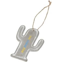 Seasonal Cactus Ornament