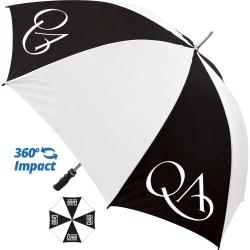 Value Sports Promotional Umbrella - 4 Panel Print
