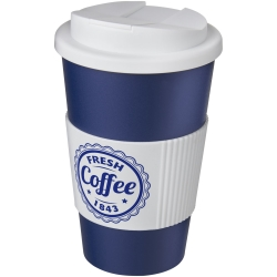 Americano 350Ml Tumbler With Grip & Spill-Proof Lid