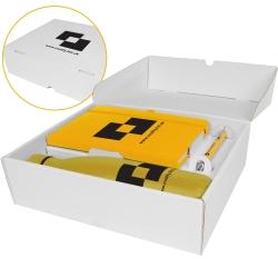 Mood Box Gift Set - Bottle, Notebook & Pen